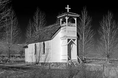 Photograph - Little Country Church by Donna Kennedy