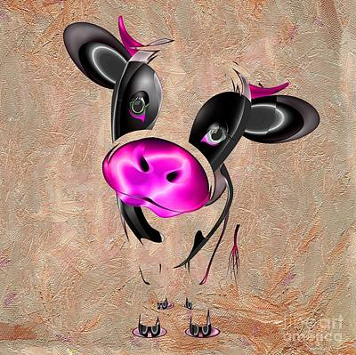 Photograph - Little Cow by Liane Wright