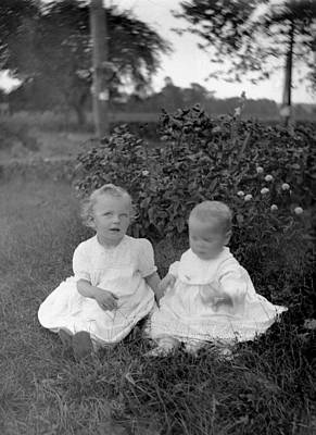 Photograph - Little Darlings  by William Haggart