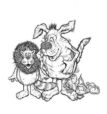 Little Dog Laughed Original by Douglas William Penhale
