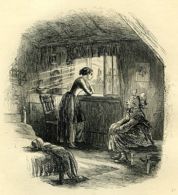 World Heritage Drawing - Little Dorrit The Story Of The Princess by English School