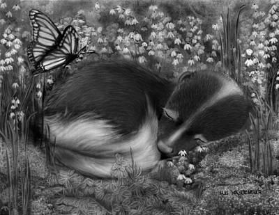 Little Dreamer Art Print by Miki Krenelka