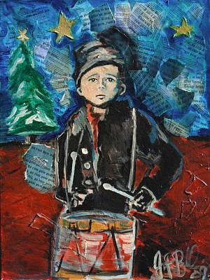 Little Drummer Boy 2009 Art Print by Jon Baldwin  Art
