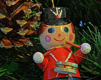 Photograph - Little Drummer Boy Ornament by Bill Owen