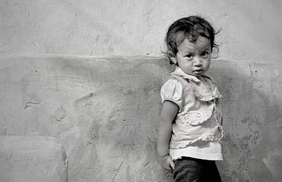 Photograph - Little Face In Tansen by Valerie Rosen