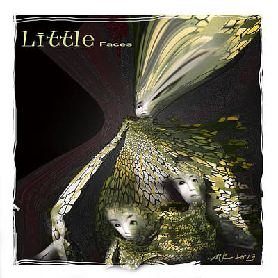 Little Faces Art Print by Bob Salo
