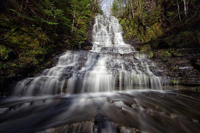 Water Filter Photograph - Little Falls by Jakub Sisak