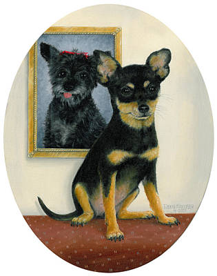 Painting - Little Friends by Doug Kreuger