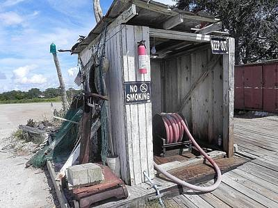Photograph - Little Gas Shack by Patricia Greer