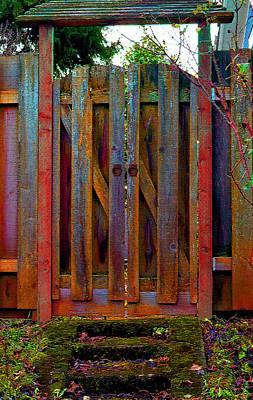 Photograph - Little Gate by Michele Avanti