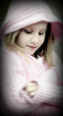 Photograph - Little Girl Pink by Jon Van Gilder