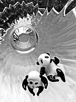 Photograph - Little Glass Pandas 36 by Sarah Loft