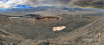 Photograph - Little Hebe Crater Afternoon Panorama by Adam Jewell