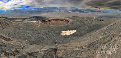Photograph - Little Hebe Crater Panorama by Adam Jewell