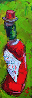 Bloody Mary Painting - Little Hot by Carole Foret