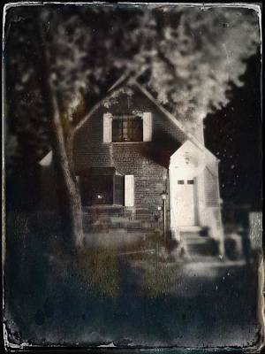 Haunted House Photograph - Little House In Maspeth by H James Hoff