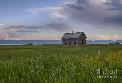 Lake Photograph - Little House On The Prairie by Idaho Scenic Images Linda Lantzy