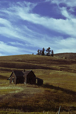 Little House On The Prairie Print by Justin  Curry