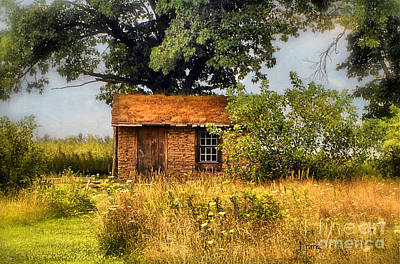 Photograph - Little House On The Prairie by Peggy Franz