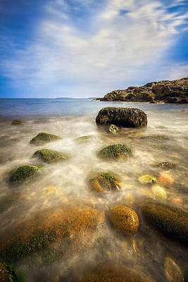 Photograph - Little Hunters Beach by Robert Clifford