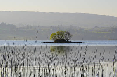 Donegal Photograph - Little Island In Lough Eske by Bill Cannon
