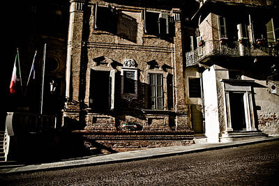 Houses Photograph - Little Italy by Michael  Bjerg
