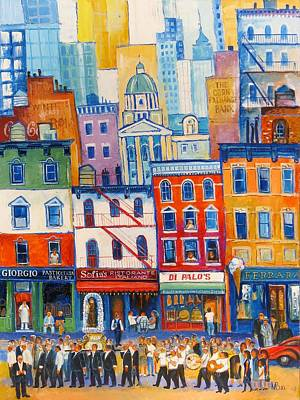 Little Italy New York Art Print