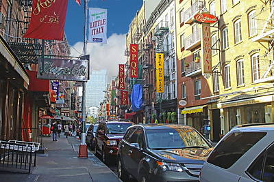 Little Italy Ny City Original by Edward Kocienski