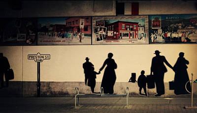 Graffiti Photograph - Little Italy by Zinvolle Art