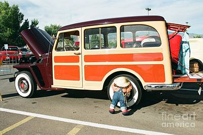 Photograph - Little Jeep Tire Buster by Vinnie Oakes
