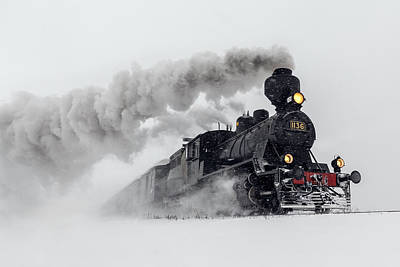 Steam Photograph - Little-jumbo by Harriaho.com