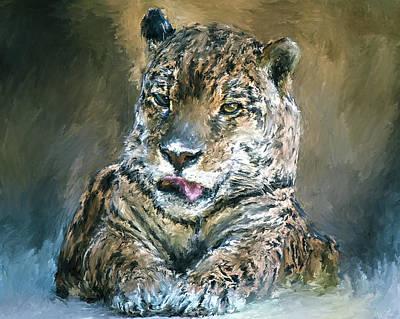Kitty Digital Art - Little Kitty by Yury Malkov