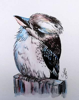Little Kookaburra Art Print