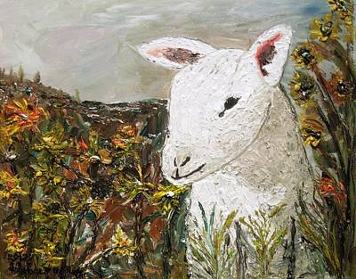 Painting - Little Lamb by Randolph Gatling
