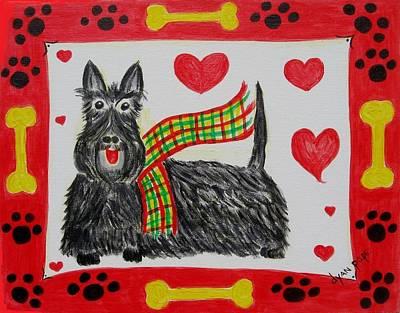Little Lassie Art Print