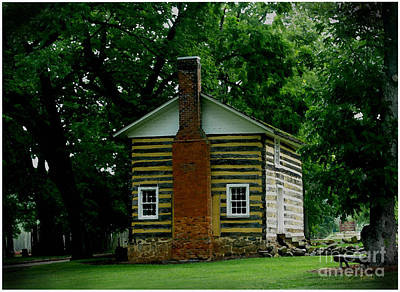 Photograph - Little Log Cabin by James C Thomas