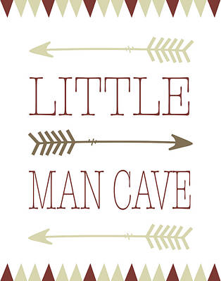 Little Man Cave Art Print by Tara Moss