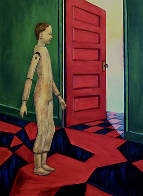 Painting - Little Man Number Four by Nancy Wait
