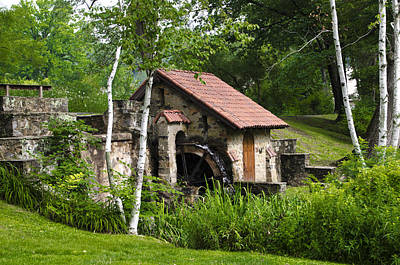 Little Wayne Photograph - Little Mill Eastern State College by Bill Cannon