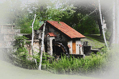 Little Mill Eastern State College - Faded Art Print by Bill Cannon