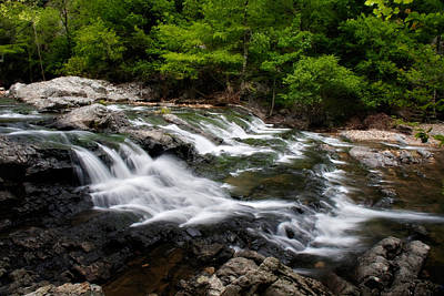 Photograph - Little Missouri Falls by Lana Trussell