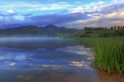 Photograph - Little Molas Lake Sunrise-2 by Alan Vance Ley