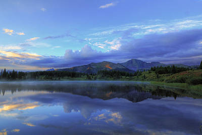 Photograph - Little Molas Lake Sunrise by Alan Vance Ley