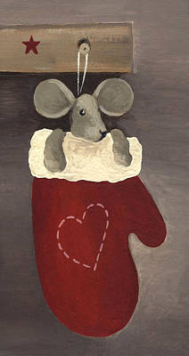 Painting - Little Mouse by Natasha Denger