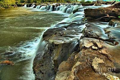 Photograph - Little Niagara by Adam Jewell