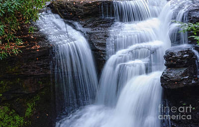 Print featuring the photograph Little Niagara by Debra Fedchin