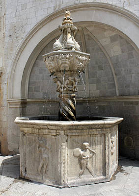 Photograph - Little Onofrio's Fountain by David Nicholls