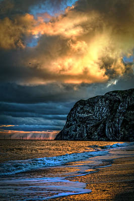 Wall Art - Photograph - Little Orme Sunrise by Mal Bray