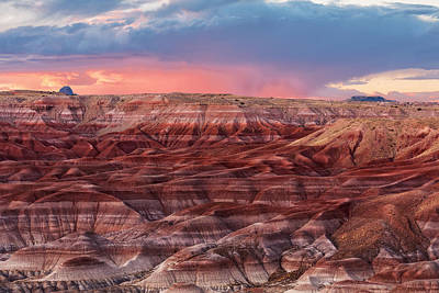Little Painted Desert - 2 Art Print by Alex Mironyuk