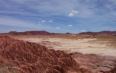 Photograph - Little Painted Desert by R B Harper